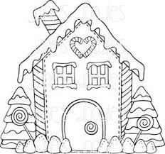 gingerbread house christmas village coloring u2013 merry christmas