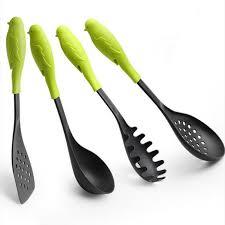 spatule cuisine plastique ensemble de l environnement poignée en plastique épais