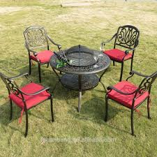 Cast Aluminium Garden Table And Chairs Hotsale All Weather Rust Free Cast Aluminium Garden Furniture