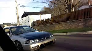 honda ricer lincoln town car vs modded honda ricer race