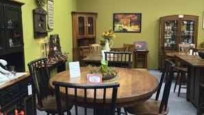 amish dining room furniture pa dutch woodcraft