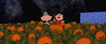 halloween header background our it s the great pumpkin charlie brown yard art we made 448
