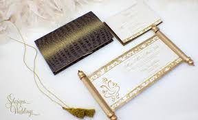 indian wedding invitations scrolls new to sdezigns on etsy gorgeous ganesh indian wedding invitation