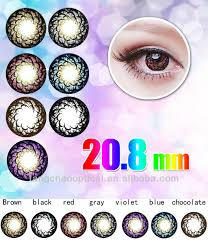 korea cosmetic color contact lens yearly colored contacts