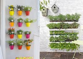 vertical garden planters with apartment balcony pots for gardening