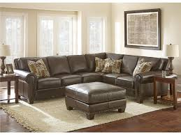 distressed leather sofa with chaise dawndalto home decor best
