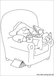 paddington bear coloring pages coloring book