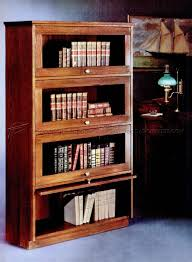 Build Wood Bookcase Plans by Barristers Bookcase Plans U2022 Woodarchivist