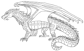 wings fire coloring pages pictures pin thepinsta