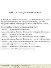 Sales Manager Resume Sample U0026 Writing Tips by Example Executive Resume Ceo Resume Sample Page 1 Marketing