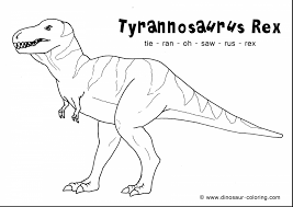 awesome tyrannosaurus rex coloring pages with t rex coloring page