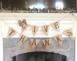 thanksgiving burlap banner give thanks fall burlap banner fall banner fall decor fall