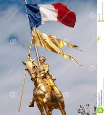 New Orleans Flag Joan Of Arc New Orleans Usa Editorial Image Image 22785155