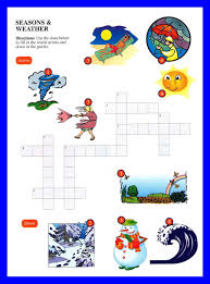 crossword and wordserch for kids esl