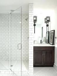 glass subway tile bathroom ideas bathroom subway tile oasiswellness co