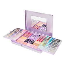 metallic purple sliding makeup set make up pinterest makeup
