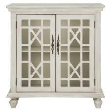Two Door Cabinet City Furniture White Two Door Cabinet