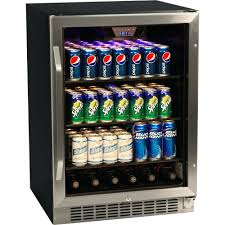 gl front beverage refrigerator 24 under counter wine cooler with