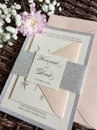 Wedding Invitations With Pockets Best 25 Glitter Wedding Invitations Ideas On Pinterest Bling
