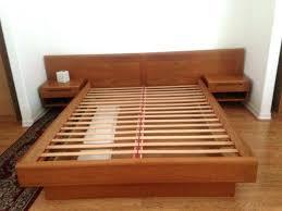 Wood Platform Bed Frame Platform Bed Moutard Co