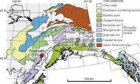 Tanana Alaska Map by Peninsular Terrane Basement Ages Recorded By Paleozoic And