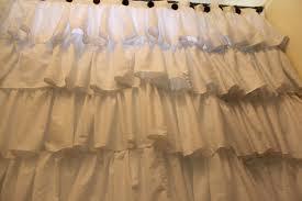 Anthropologie Ruffle Shower Curtain Do It Yourself Divas Diy Anthropologie Inspired Shower Curtain