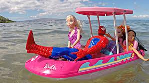 barbie 57 chevy disneycartoys disney princess dolls ride barbie glam boat with