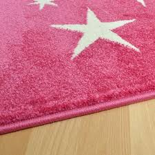 Pink Star Rug Play All Stars Pink Rug Children U0027s Rugs Free Uk Delivery