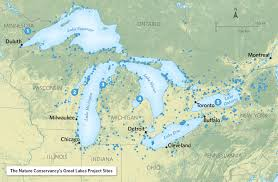 Map Of Lake Superior Outtakes Under The Surface Of The Great Lakes U2013 Cool Green Science