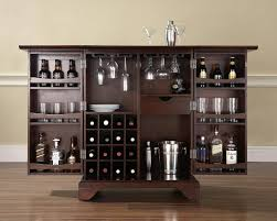 bar table with wine rack home bar cabinet design style personality art decor homes