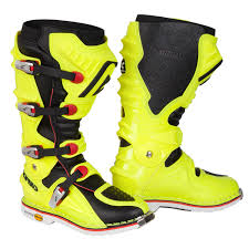 mx boots acerbis mx boots x move 2 0 fluo yellow black 2017 maciag offroad