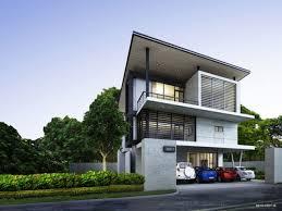 storey modern home modern story house designs simple storey design