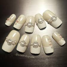 miss ruby nails wedding elegant special occasion nails