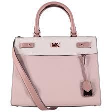 light pink michael kors handbag michael kors 30s8tn3s3l dames light pink at coccinelle