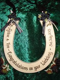 horseshoe wedding gift 57 best wedding horseshoes gifts images on horseshoe