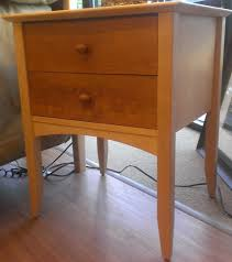 nightstand exquisite american drew bedroom furniture used