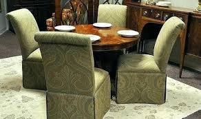 rolling dining room chairs gorgeous leather dining chair with casters starlize me