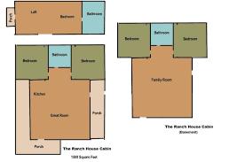 Ponderosa Floor Plan Bonanza Ponderosa Ranch House Floor Plan House Plans Ponderosa