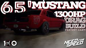build ford mustang 2015 fastest car need for speed 2015 ford mustang 1965