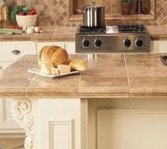 Concrete Tile Backsplash by Décor Trend 24 Tile Kitchen Countertops Digsdigs