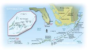 Map Key West Florida by Dry Tortugas National Park Location Florida Keys And Dry