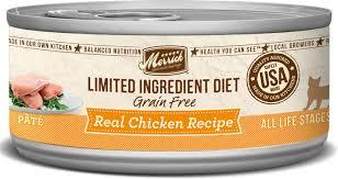 merrick limited ingredient diet grain free real chicken pate