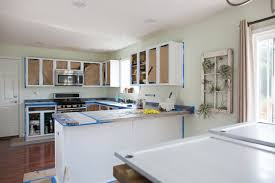 painting the kitchen cabinets how much will it cost to paint kitchen cabinets kitchn