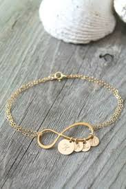 Infinity Bracelet With Initials Personalized Infinity Bracelet Infinity Bracelet By Benydesign