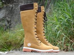s 14 inch timberland boots uk uk timberland icon 14 inch knee high lace up boots wheat