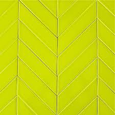 yellow chevron tile by clayhaus modwalls modern tiles modwalls tile