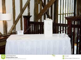 wedding gift table wedding reception gift table stock photo image 40115861
