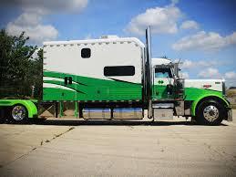 Sleeper Trucks With Bathrooms White Green Truck Jpg