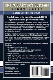 crj 700 aircraft systems study guide aaron boone 9780979076732