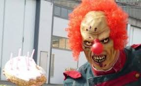 where can i rent a clown for a birthday party evil clown hired for stalking threats and a pie in the
